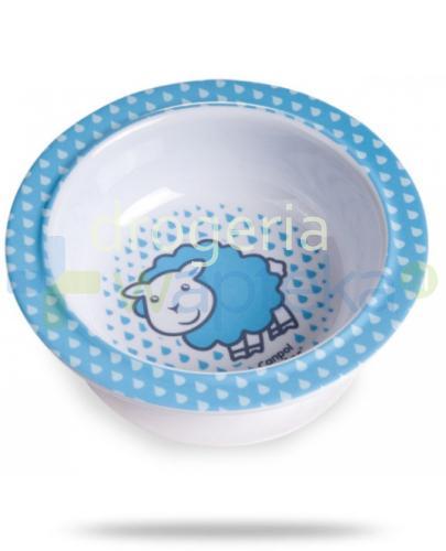 Canpol Babies melaminowa miseczka z przyssawką 1 sztuka [4/519]