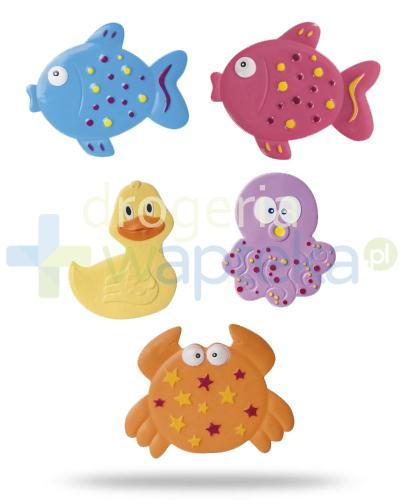 Canpol Babies mini maty kąpielowe kolorowy ocean 5 sztuk [80/003]