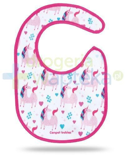 Canpol Babies śliniak bawełniany na rzep 1 sztuka [15/110]