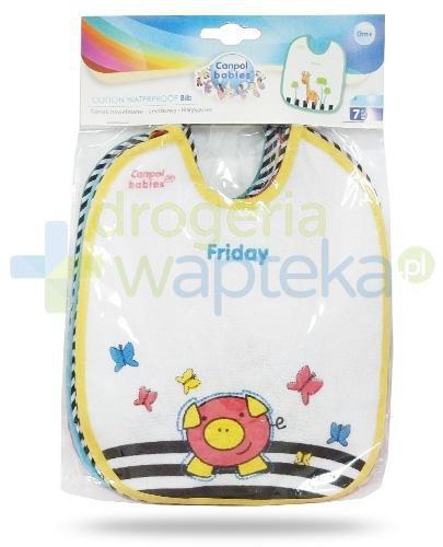 Canpol Babies śliniak ceratkowo-bawełniany 7 sztuk [2/102]