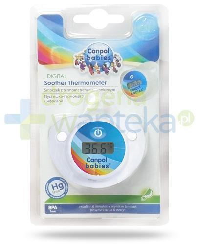 Canpol Babies smoczek z termometrem elektronicznym 1 sztuka [9/103]