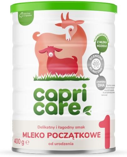 CapriCare 1 mleko początkowe od urodzenia oparte na kozim mleku 400 g