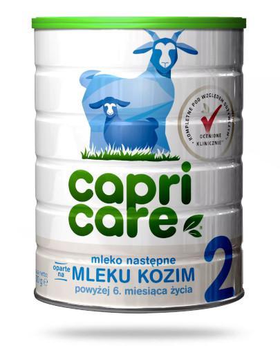 CapriCare 2 mleko następne 6+ oparte na kozim mleku 400 g