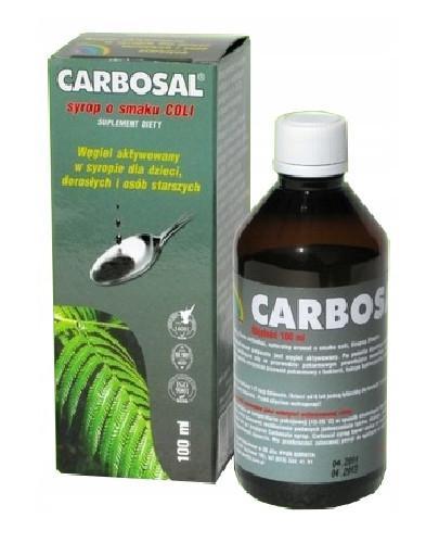 Carbosal Syrop o smaku coli 100 ml