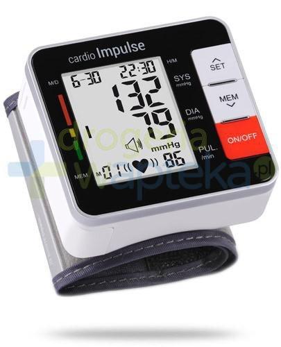Cardio Impulse Beat ciśnieniomierz automatyczny nadgarstkowy 1 sztuka