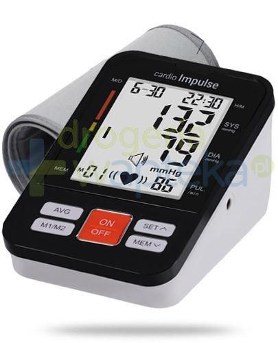 Cardio Impulse Pro ciśnieniomierz automatyczny naramienny 1 sztuka [WYPRZEDAŻ]