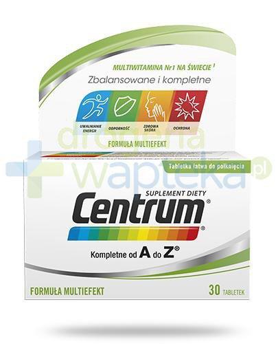 Centrum AZ Multiefekt witaminy i minerały 30 tabletek