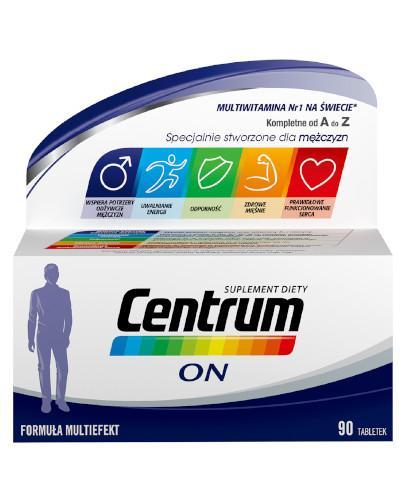 Centrum On Multiefekt witaminy i minerały dla mężczyzn 90 tabletek [UMF]