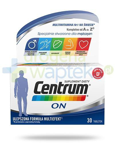 Centrum On ulepszona formuła Multiefekt 30 tabletek  whited-out