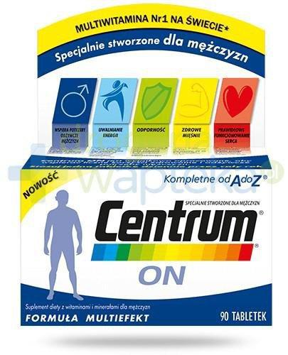 Centrum On witaminy i minerały dla mężczyzn 90 tabletek  whited-out