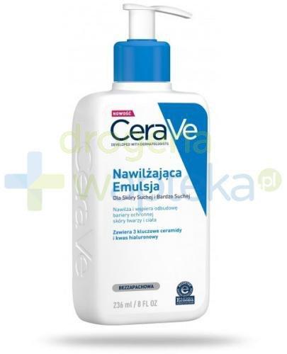 CeraVe nawilżająca emulsja dla skóry suchej i bardzo suchej 236 ml
