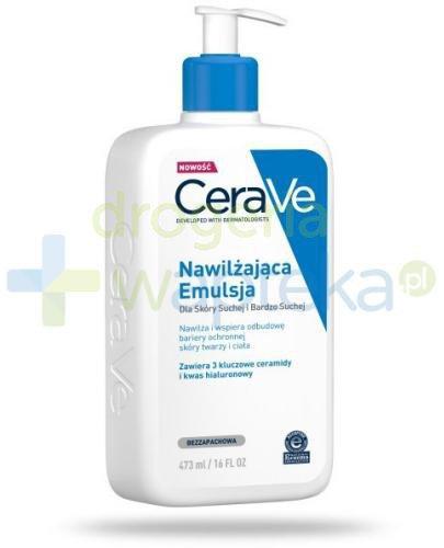 CeraVe nawilżająca emulsja dla skóry suchej i bardzo suchej 473 ml