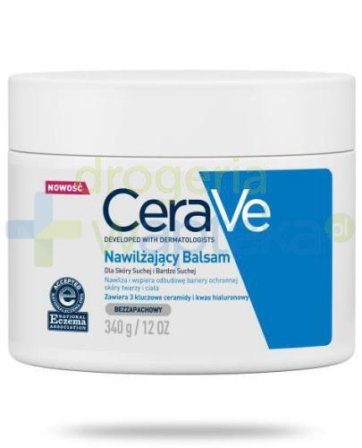CeraVe nawilżający balsam dla skóry suchej i bardzo suchej 340 g