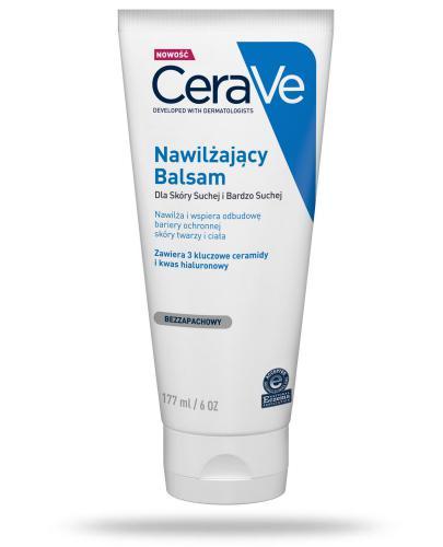 CeraVe nawilżający balsam dla skóry suchej i bardzo suchej 177 ml + CeraVe płyn micela...
