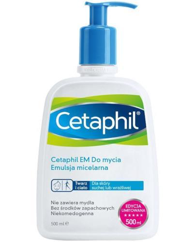 Cetaphil EM emulsja micelarna do mycia z pompką 500 ml