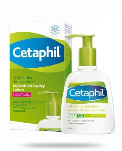 Cetaphil MD Dermoprotektor balsam do twarzy i ciała z pompką 236 ml