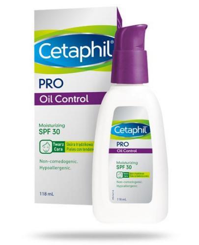 Cetaphil Pro Control krem nawilżająco matujący SPF30 118 ml [Dermacontrol]