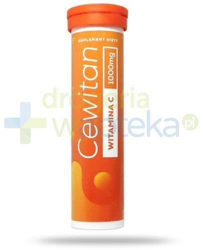 Cewitan witamina C 1000mg smak cytrynowy 15 tabletek