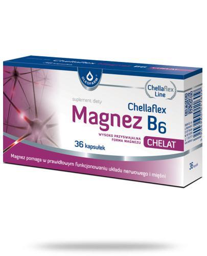 Chellaflex Magnez B6 36 kapsułek