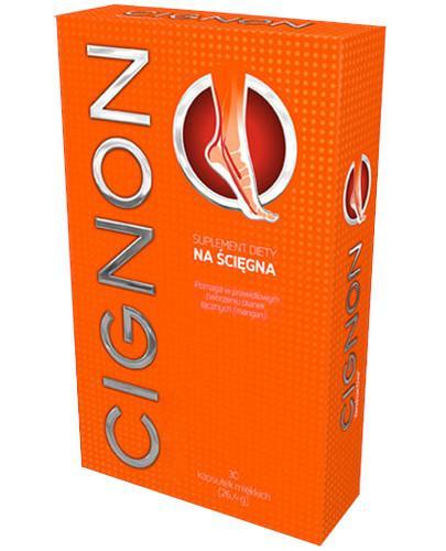 Cignon na ścięgna 30 kapsułek