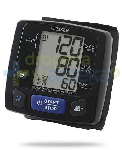 Citizen CH 618 ciśnieniomierz automatyczny nadgarstkowy 1 sztuka