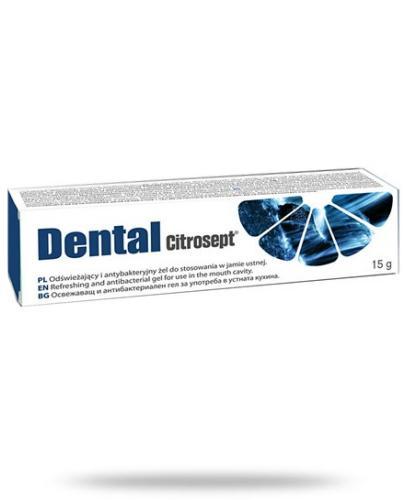 Citrosept Dental antybakteryjny żel odświeżający do jamy ustnej 15 g