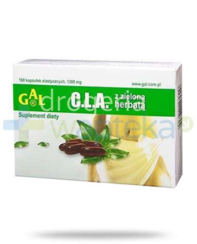 GAL Cla z zieloną herbatą 100 kapsułek