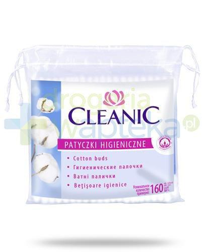Cleanic patyczki higieniczne 160 sztuk
