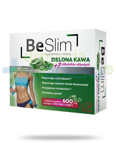 Colfarm Be Slim zielona kawa 30 tabletek