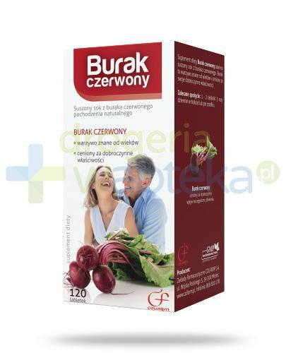 Colfarm Burak czerwony 120 tabletek