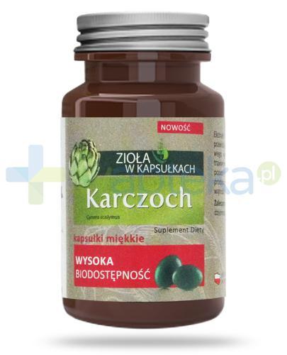 Colfarm Karczoch zioła w kapsułkach 60 sztuk