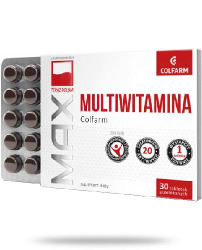 Colfarm Max Multiwitamina 30 tabletek