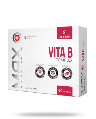 Colfarm Max Vita B Complex 60 tabletek