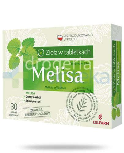 Colfarm Melisa 30 tabletek