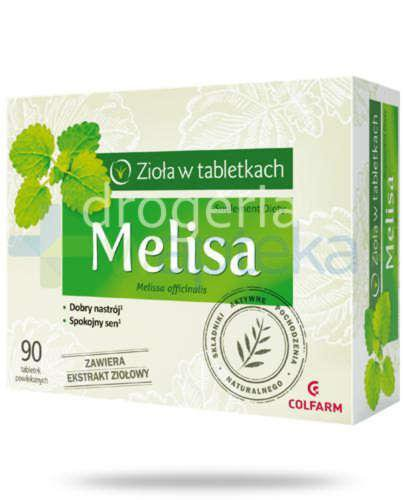 Colfarm Melisa 90 tabletek