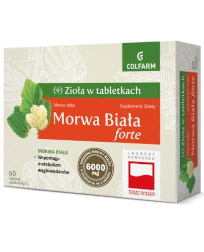 Colfarm Morwa Biała forte 60 tabletek