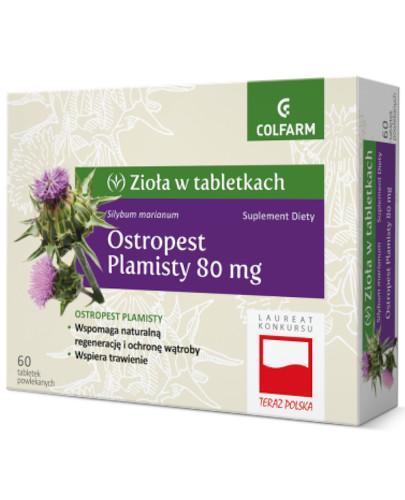 Colfarm Ostropest plamisty 80mg 60 tabletek