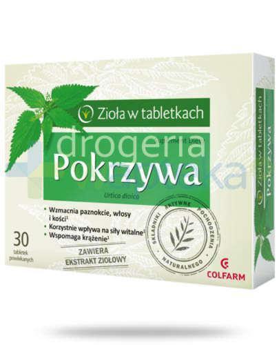 Colfarm Pokrzywa 30 tabletek