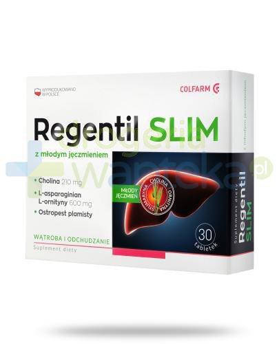 Colfarm Regentil Slim z młodym jęczmieniem 30 tabletek
