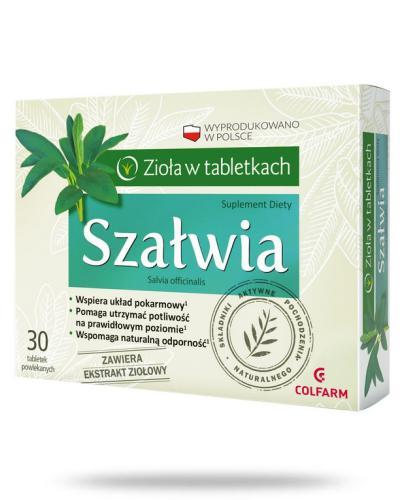 Colfarm Szałwia 30 tabletek