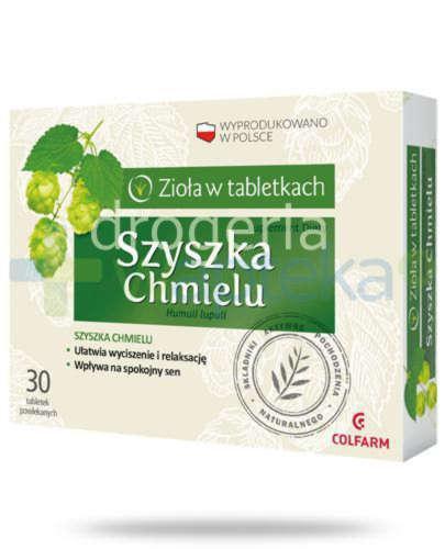 Colfarm Szyszka chmielu 30 tabletek
