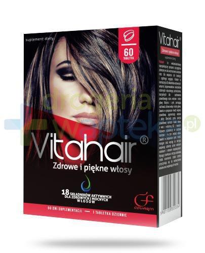 Colfarm Vitahair zdrowe i piękne włosy 60 tabletek