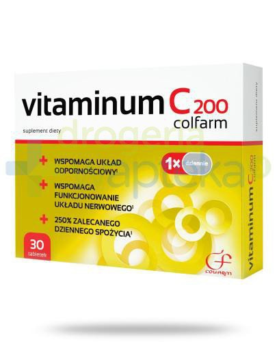 Colfarm Vitaminum C 30 tabletek