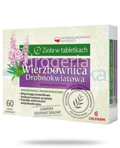 Colfarm Wierzbownica drobnokwiatowa 60 tabletek
