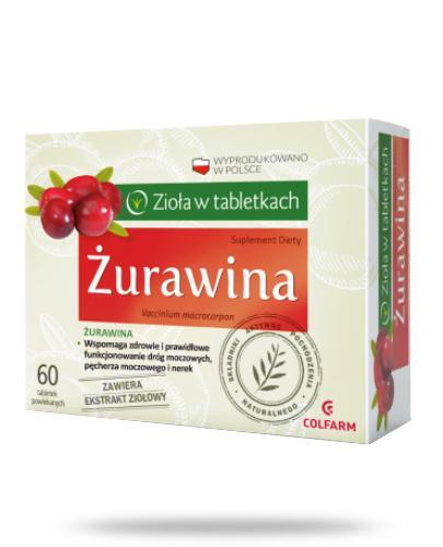 Colfarm Żurawina 60 tabletek