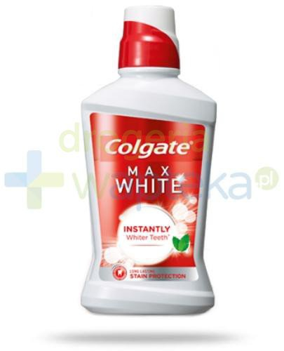 Colgate Max White Natychmiastowo bielsze zęby 500 ml  whited-out