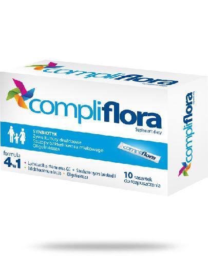 Compliflora 10 saszetek [Data ważności 30-11-2020]