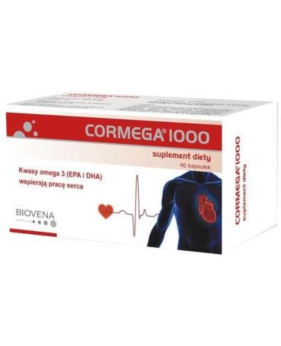 Cormega 1000 40 kapsułek