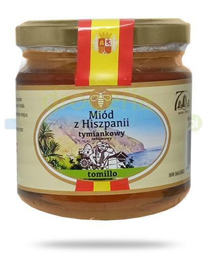 Corpo Miód z Hiszpanii Tomillo miód tymiankowy nektarowy 250 g  whited-out