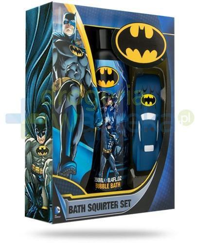 Corsair Batman ZESTAW Bubble Bath płyn do kąpieli dla dzieci 250 ml + Batmobil zabawka d...  whited-out